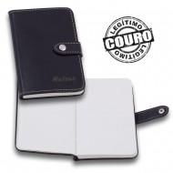 Caderno de Anotações de Couro